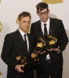 The Black Keys win two Grammys at the 53rd Grammy Awards in Los Angeles