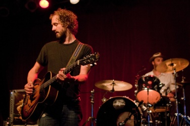 Playing with Phosphorescent (shown here at Exit/In, photo credit: Nashville Scene)