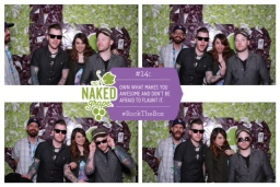 : Photo Booth fun after our interview with Rock The Vote!