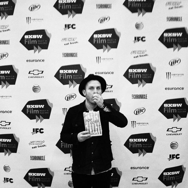 Popcorn Break in between sets and interviews