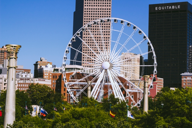 Views from Centennial Olympic Park