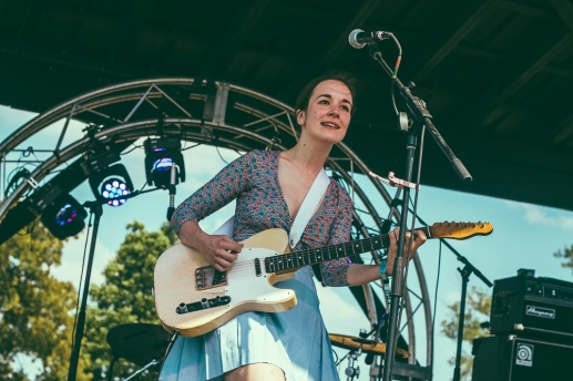Margaret Glaspy at Who Stage on Saturday