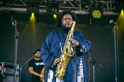 The reigning king of jazz Kamasi Washington