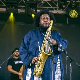 The reigning king of jazz Kamasi Washington